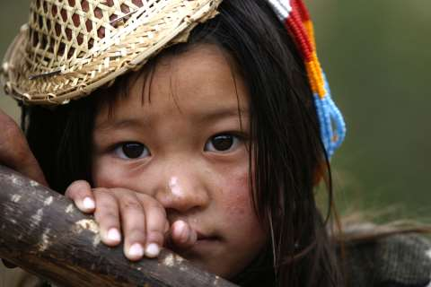 Pretty Bhutanese girl