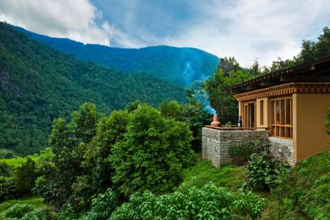 Uma Punakha - Accommodation - One Bedroom Villa Terrace